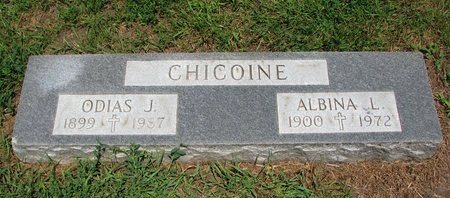 CHICOINE, ALBINA L. - Union County, South Dakota | ALBINA L. CHICOINE - South Dakota Gravestone Photos