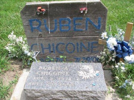 CHICOINE, RUBEN ANTHONY - Union County, South Dakota | RUBEN ANTHONY CHICOINE - South Dakota Gravestone Photos