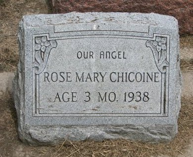 CHICOINE, ROSE MARY - Union County, South Dakota | ROSE MARY CHICOINE - South Dakota Gravestone Photos