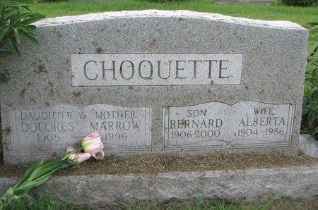 CHOQUETTE, BERNARD - Union County, South Dakota | BERNARD CHOQUETTE - South Dakota Gravestone Photos