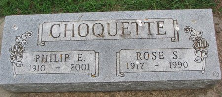HALL CHOQUETTE, ROSE S. - Union County, South Dakota | ROSE S. HALL CHOQUETTE - South Dakota Gravestone Photos