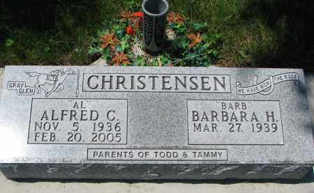 CHRISTENSEN, ALFRED C. - Union County, South Dakota | ALFRED C. CHRISTENSEN - South Dakota Gravestone Photos