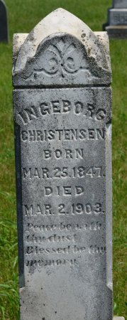 CHRISTENSEN, INGEBORG JOHNSDATTER  - Union County, South Dakota | INGEBORG JOHNSDATTER  CHRISTENSEN - South Dakota Gravestone Photos
