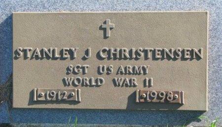 CHRISTENSEN, STANLEY J. (WORLD WAR II) - Union County, South Dakota | STANLEY J. (WORLD WAR II) CHRISTENSEN - South Dakota Gravestone Photos