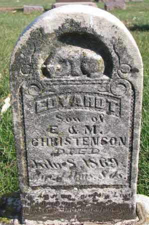 CHRISTENSON, EDVARDT - Union County, South Dakota | EDVARDT CHRISTENSON - South Dakota Gravestone Photos