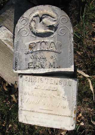 CHRISTENSON, GINA - Union County, South Dakota   GINA CHRISTENSON - South Dakota Gravestone Photos