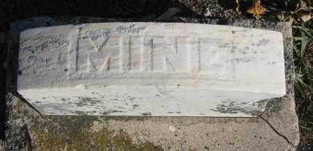 CHRISTENSON, MINE (FOOTSTONE) - Union County, South Dakota | MINE (FOOTSTONE) CHRISTENSON - South Dakota Gravestone Photos
