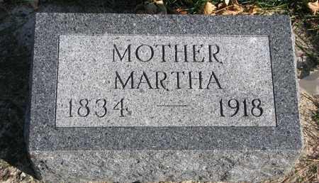 CHRISTENSON, MARTHA - Union County, South Dakota | MARTHA CHRISTENSON - South Dakota Gravestone Photos