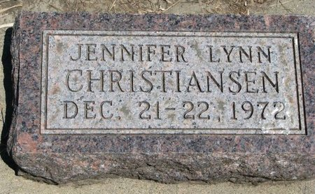CHRISTIANSEN, JENNIFER LYNN - Union County, South Dakota   JENNIFER LYNN CHRISTIANSEN - South Dakota Gravestone Photos