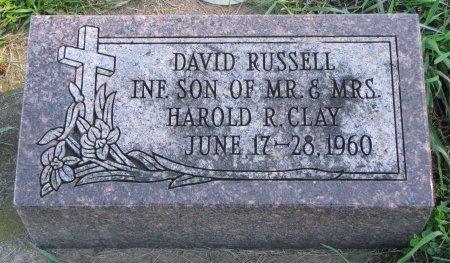 CLAY, DAVID RUSSELL - Union County, South Dakota | DAVID RUSSELL CLAY - South Dakota Gravestone Photos