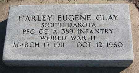 CLAY, HARLEY EUGENE (WORLD WAR II) - Union County, South Dakota   HARLEY EUGENE (WORLD WAR II) CLAY - South Dakota Gravestone Photos