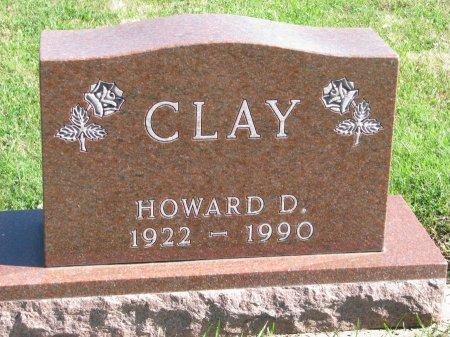 CLAY, HOWARD D. - Union County, South Dakota   HOWARD D. CLAY - South Dakota Gravestone Photos