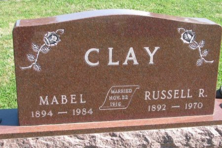 CLAY, RUSSELL R. - Union County, South Dakota | RUSSELL R. CLAY - South Dakota Gravestone Photos