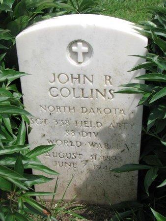 "COLLINS, JOHN R. ""ROY"" (WORLD WAR I) - Union County, South Dakota   JOHN R. ""ROY"" (WORLD WAR I) COLLINS - South Dakota Gravestone Photos"