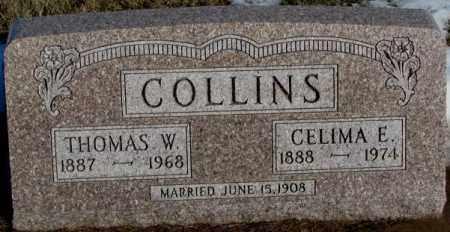 COLLINS, THOMAS W. - Union County, South Dakota | THOMAS W. COLLINS - South Dakota Gravestone Photos