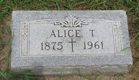 CONNORS, ALICE T. - Union County, South Dakota | ALICE T. CONNORS - South Dakota Gravestone Photos