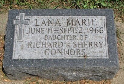 CONNORS, LANA MARIE - Union County, South Dakota | LANA MARIE CONNORS - South Dakota Gravestone Photos