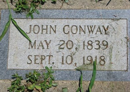 CONWAY, JOHN - Union County, South Dakota | JOHN CONWAY - South Dakota Gravestone Photos