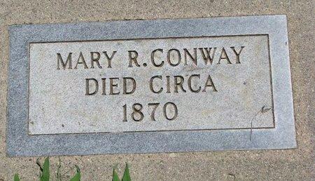 CONWAY, MARY R. - Union County, South Dakota | MARY R. CONWAY - South Dakota Gravestone Photos