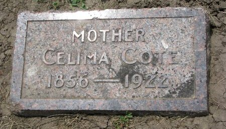 COTE, CELIMA - Union County, South Dakota | CELIMA COTE - South Dakota Gravestone Photos