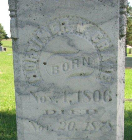 CRANE, MORTIMER M. (CLOSE UP) - Union County, South Dakota | MORTIMER M. (CLOSE UP) CRANE - South Dakota Gravestone Photos
