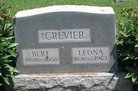 CREVIER, LEONA - Union County, South Dakota | LEONA CREVIER - South Dakota Gravestone Photos