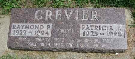 RICKER CREVIER, PATRICIA L. - Union County, South Dakota | PATRICIA L. RICKER CREVIER - South Dakota Gravestone Photos