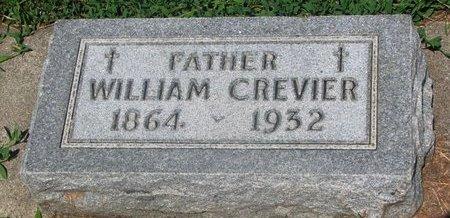 CREVIER, WILLIAM - Union County, South Dakota   WILLIAM CREVIER - South Dakota Gravestone Photos