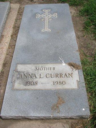CURRAN, ANNA L. - Union County, South Dakota | ANNA L. CURRAN - South Dakota Gravestone Photos