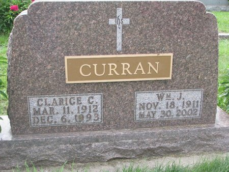 BOSSE CURRAN, CLARICE C. - Union County, South Dakota | CLARICE C. BOSSE CURRAN - South Dakota Gravestone Photos