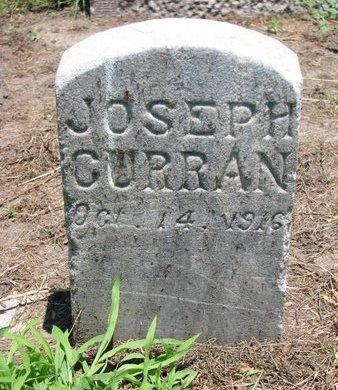 CURRAN, JOSEPH - Union County, South Dakota | JOSEPH CURRAN - South Dakota Gravestone Photos