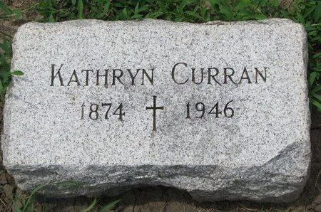 CURRAN, KATHRYN - Union County, South Dakota | KATHRYN CURRAN - South Dakota Gravestone Photos