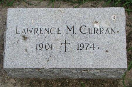 CURRAN, LAWRENCE M. - Union County, South Dakota | LAWRENCE M. CURRAN - South Dakota Gravestone Photos