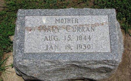 CURRAN, MARY - Union County, South Dakota | MARY CURRAN - South Dakota Gravestone Photos