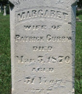 CURRY, MARGARET (CLOSEUP) - Union County, South Dakota | MARGARET (CLOSEUP) CURRY - South Dakota Gravestone Photos