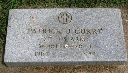 CURRY, PATRICK JOHN JR. (WORLD WAR II) - Union County, South Dakota   PATRICK JOHN JR. (WORLD WAR II) CURRY - South Dakota Gravestone Photos