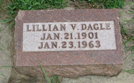 DAGLE, LILLIAN V. - Union County, South Dakota | LILLIAN V. DAGLE - South Dakota Gravestone Photos