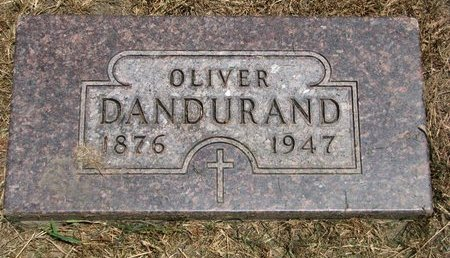 DANDURAND, OLIVER - Union County, South Dakota | OLIVER DANDURAND - South Dakota Gravestone Photos