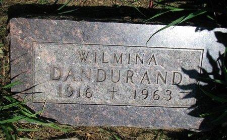 DANDURAND, WILMINA - Union County, South Dakota   WILMINA DANDURAND - South Dakota Gravestone Photos
