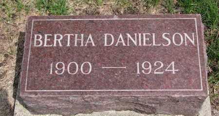 DANIELSON, BERTHA - Union County, South Dakota | BERTHA DANIELSON - South Dakota Gravestone Photos