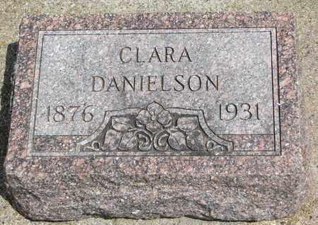 DANIELSON, CLARA - Union County, South Dakota   CLARA DANIELSON - South Dakota Gravestone Photos