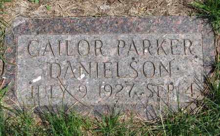 DANIELSON, GAILOR PARKER - Union County, South Dakota   GAILOR PARKER DANIELSON - South Dakota Gravestone Photos