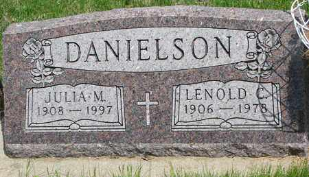 DANIELSON, LENOLD C. - Union County, South Dakota | LENOLD C. DANIELSON - South Dakota Gravestone Photos
