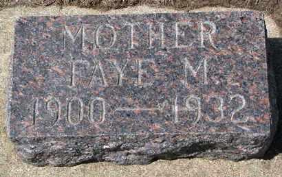 DE REMER, FAYE M. - Union County, South Dakota | FAYE M. DE REMER - South Dakota Gravestone Photos