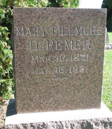 DE REMER, MARY - Union County, South Dakota | MARY DE REMER - South Dakota Gravestone Photos