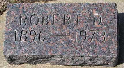 DE REMER, ROBERT D. - Union County, South Dakota | ROBERT D. DE REMER - South Dakota Gravestone Photos