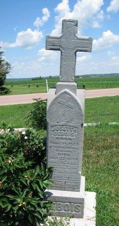 DEBOIS, JOSETTH - Union County, South Dakota | JOSETTH DEBOIS - South Dakota Gravestone Photos