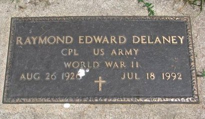 DELANEY, RAYMOND EDWARD (WORLD WAR II) - Union County, South Dakota | RAYMOND EDWARD (WORLD WAR II) DELANEY - South Dakota Gravestone Photos