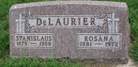 MILLETTE DELAURIER, ROSANA - Union County, South Dakota | ROSANA MILLETTE DELAURIER - South Dakota Gravestone Photos