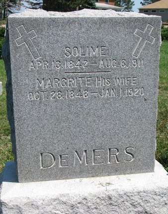 DESMARAIS DEMERS, MARGRITE - Union County, South Dakota | MARGRITE DESMARAIS DEMERS - South Dakota Gravestone Photos